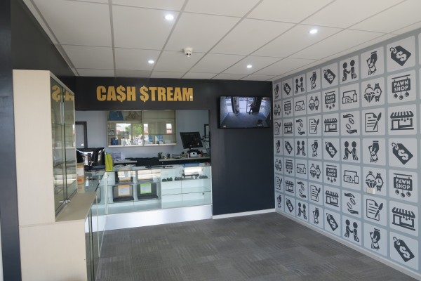 Cash Stream 3 D sign 2