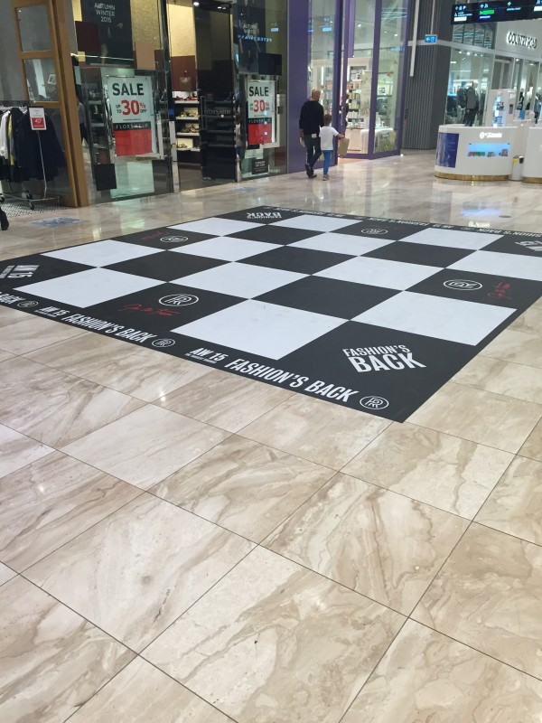 rundle place large floor decal 2